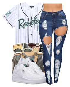 """reckless⚡"" by trapsoul4life ❤ liked on Polyvore featuring Young & Reckless…"