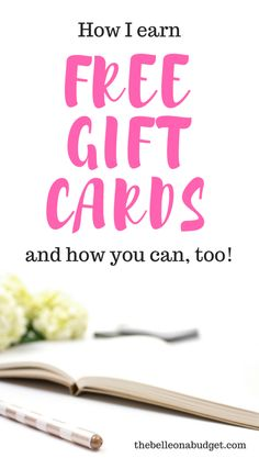 Do you know how easy it is to earn free gift cards? It's almost no work at all! Check out this quick post for some ways to earn some extra money today.