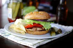 Turkey Burger Loaded