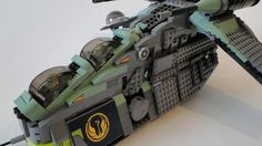 Lego Kashyyyk-Gunship 7676 UCS - Custom Star Wars