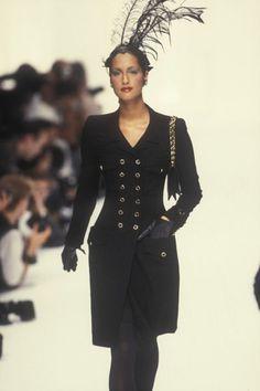 Yasmeen Ghauri - Chanel, Autumn-Winter 1994, Couture