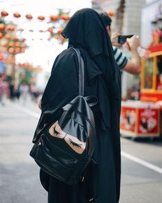 URBAN SUNNAH® ~ Large Niqabie Backpack Inquiries: urbansunnah.order@gmail.com Hijab Dpz, Hijabi Girl, Niqab, Hijab Outfit, Muslim Women, Hijab Fashion, Sling Backpack, Purses And Bags, Backpacks