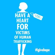 #doyouknow some 1.2 million children are trafficked every year. Sold as #slaves, most end up as domestic child labour and child prostitutes. Some are exploited in sweatshops, factories, farms, plantations and mines, as drug couriers, beggars, child soldiers. Some are even sold for their organs and body parts.  Spread the word and say NO to human #slavery. Give back what was stolen from these children: #Hope.  #igivehope #endslavery #trafficking #notforsale #dignity #children4change…
