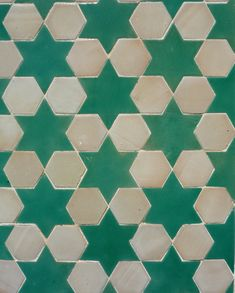 Spanish zellij mosaic ceramic tile from Antigua Del Mar Tile