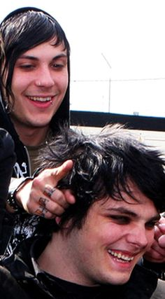 Frank Iero & Gerard Way of My Chemical Romance