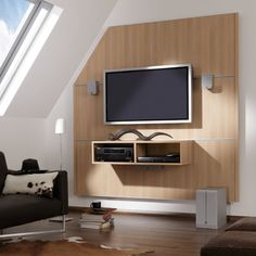TV wall units for small living room!
