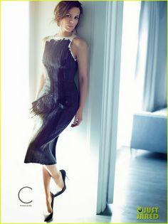 Celeb Diary: Kate Beckinsale in revista C (noiembrie 2013)