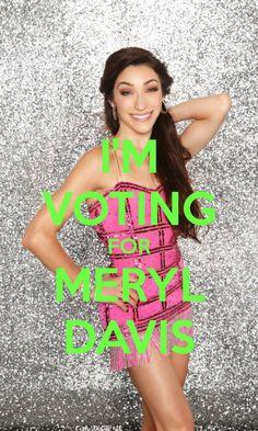 Meryl ~ DWTS Season 18