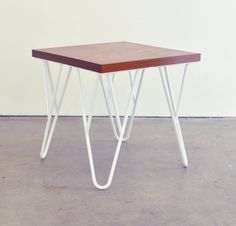 Peter End Table Modern End Table by SamuelProvenzaStudio on Etsy - $290