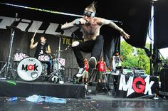 Warped Tour: Machine Gun Kelly @ The Merriweather Post Pavilion in Columbia, MD 07/24/12 by Olivia S.