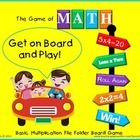 Get on board to play The Game of Math! This a fun, engaging file folder game that teaches and reinforces the basic multiplication facts 0-12.  Just...