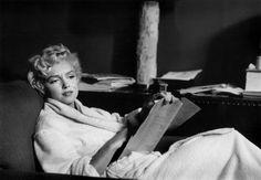 Bob Henriques - New York City. American actress Marilyn Monroe at home. 1958, Silver gelatin print