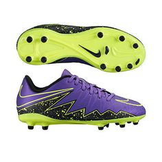 Nike Jr Hypervenom Phelon II FG - Gr. 35,0 - Kinder Fussballschuhe - 744943-550sparen25.com , sparen25.de , sparen25.info