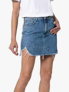 2c29f565a0 3x1 Celine Denim Mini Skirt