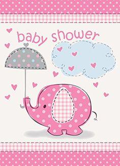 Umbrella Elephant Girl Baby Shower In... $1.29 #topseller