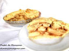 Pastel de Manzana | La Dimensión Vegana