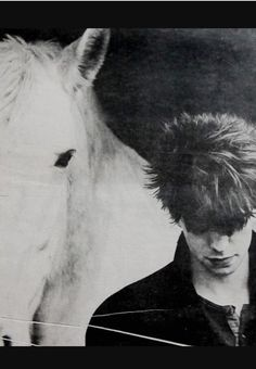 Anton Corbijn© - Ian McCulloch, for NME February, 1982