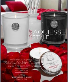 STUNNING SOY CANDLES FROM AQUIESSE NEW AT PAPERGRAFIX
