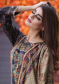 AlKaram Studio Ethnic Fashion, Indian Fashion, Womens Fashion, Pakistani Outfits, Girls Wear, Desi, Makeup Looks, Prom Dresses, Actresses
