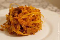 Chou blanc sauce indienne | Cahier de gourmandises