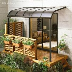 Aluminum Door Awnings | Aluminum Frame Window Awnings, Door Canopy, Garden Terrace Canopy ...