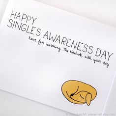 Anti Valentines Day Card Singles Awareness Card Have Fun Watching The Notebook With Your