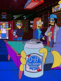 Check your local animated grocery stores and bars for Duff Blue Label Beer! pic.twitter.com/OPZBPZxZ via @pdxsnapback