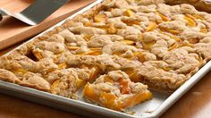Easiest-Ever Peach Slab Pie