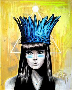 THOMAS MAINARDI - The Urban Pop Expressionist Artist   artwork