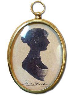 Cameo / Silhouette - Cassandra / Jane Austen Jane Austen Online Giftshop