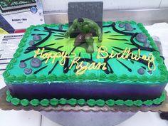 Hulk Cake by Juno-Gemini.deviantart.com on @deviantART