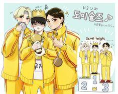 #jeonghan #woozi #mingyu #seventeenfanart | © twitter/@t_a_moo17 Woozi, Jeonghan, Twitter T, Seventeen Wallpapers, Kpop Fanart, Kpop Groups, Art Pictures, Character Design, Hero