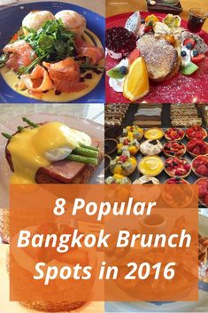 From classic local café to upscale fine dining, these are 8 popular Bangkok brunch spots that you should try when you are in Bangkok. #bangkokbits #bangkok #thailand
