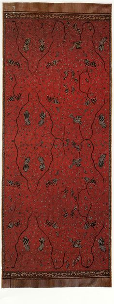 Sari to Sarong: 500 years of Indian and Indonesian textile exchange from the National Gallery of Australia.]