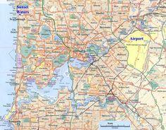perth map - Google Search Iconic Australia, Perth, Diagram, Map, Google Search, World, Location Map, Maps, The World