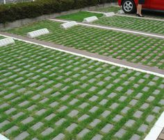 駐車場の緑化舗装ブロック一覧|植生用ブロック3メーカーを紹介