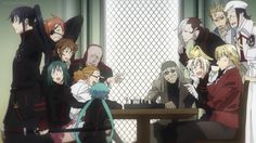 """D.Gray-Man - these """"communal"""" images really made me happy in this season."""