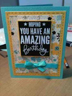 April 2013 Nicole's Journal : Happy birthday card!