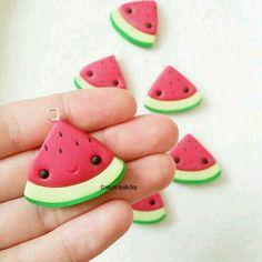watermelon charm kawaii