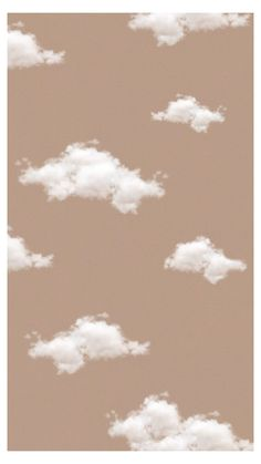 ❝clouds❞ cloud background brown background aesthetic background in 2020 Iphone wallpaper vintage Aesthetic pastel wallpaper Homescreen wallpaper
