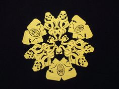 Incredible Harry Potter and Other Geeky Paper Snowflakes