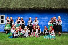 Regional costumes from Łowicz, Poland. Fot. Kamil... - Polish Folk Costumes / Polskie stroje ludowe Folk Costume, Costumes, Reference Images, Folklore, Regional, Poland, Popular, Dress Up Outfits, Most Popular