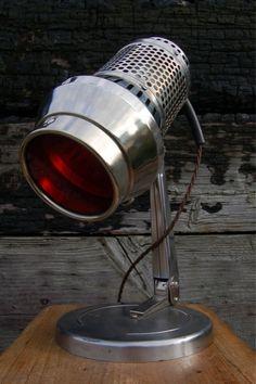 1950s Chrome Spot Lamp