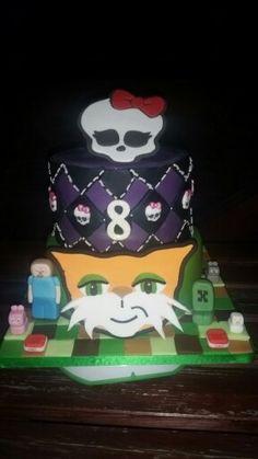 Stampycat, stampylongnose, cat, minecraft, monster high, cake