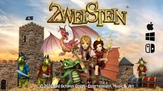 2WEISTEIN ON MAC AND ON NINTENDO SWITCH!!! THE GAME IS NOW ON THE MAC AND WE ARE VERY PROUD TO ANNOUNCE THAT YOU WILL FIND IT VERY SOON IN THE NINTENDO ESTORE.  FULL TITLE: 2WEISTEIN - THE CURSE OF THE RED DRAGON, PART 1: ASBAN CITY - PLANNED RELEASE 14.09.2020. Nintendo Switch, Red Octopus, Red Dragon, Mac, Entertaining, City, Fictional Characters, Cities, Fantasy Characters