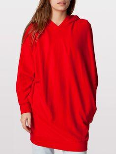 "Unisex Dolman Sleeve Hoodie - the real ""Amy Pond hoodie"" from American Apparel"