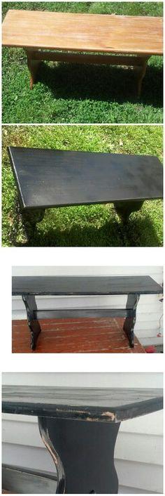 Bench re-do