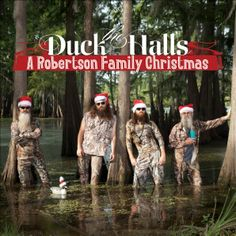 duck the halls:  Duck Dynasty's Christmas album sold more copies this week than Britney Spears and Lady Gaga....video>>