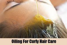 Oiling For Curly Hair Care