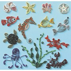 Shop Crafts & Sewing Quilling Quilled Creations Quilling Kits - Under ...